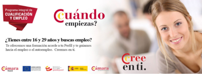 Cámara de Comercio de Almería. Cursos online.